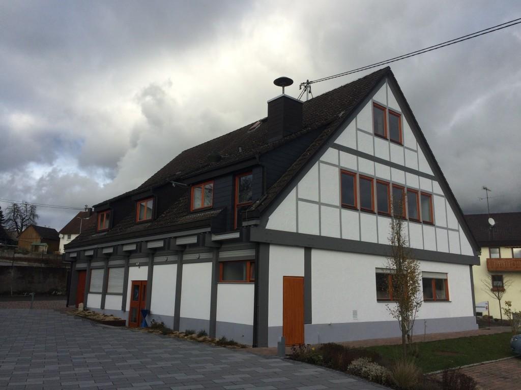 Alter Bürgersaal in Schwandorf bekam einen  neuen Anstrich.