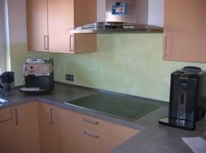 Küche im neuen Look